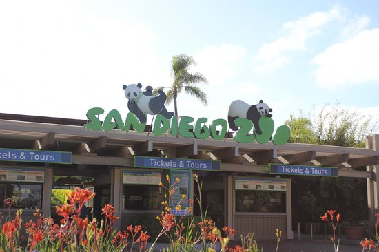 San Diego Zoo : Entrance