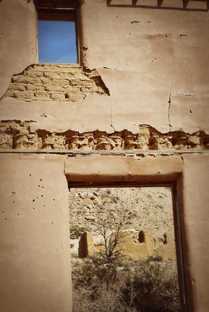 New Mexico Jeep Tours: The Mercantile at ghost town