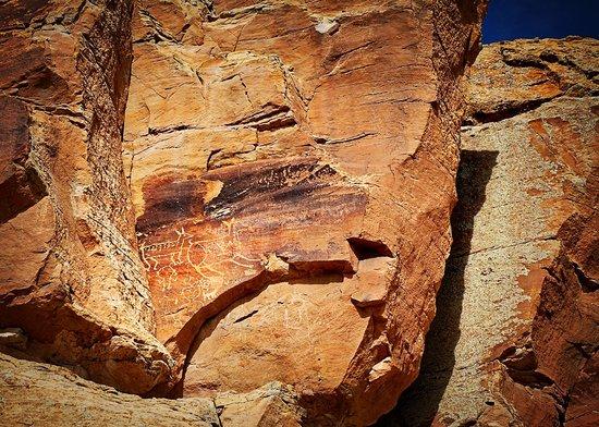 New Mexico Jeep Tours: petroglyph