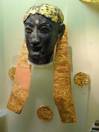 Musée archéologique de Delphes : Testa del dio Apollo