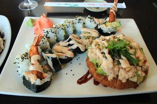 Firehouse Grill: Sushi + Sushiza?