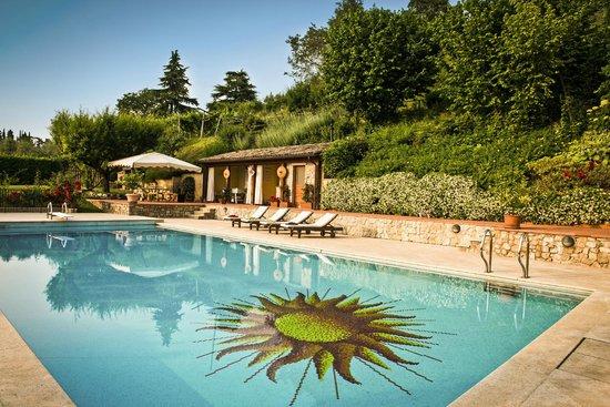 Corte delle Cicale : The swimming pool