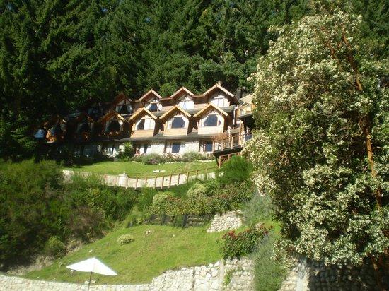 Hosteria Dos Bahias: vista general de la hosteria