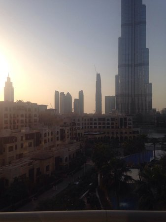 The Address Downtown Dubai - TEMPORARILY CLOSED: View from our room. Fountain view. Room 718