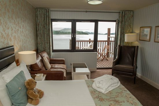 Lodge on Loch Lomond: Guest bedroom