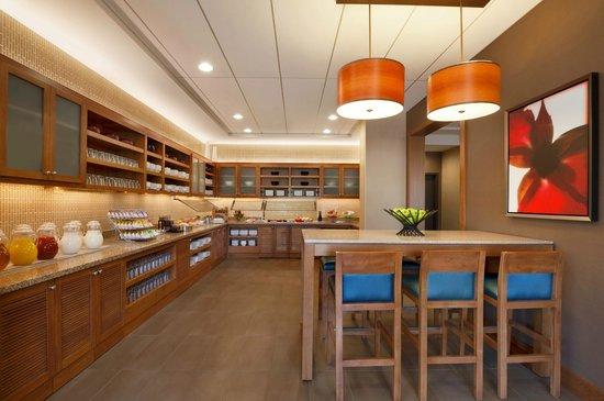 Hyatt Place Houston / The Woodlands : Gallery Kitchen