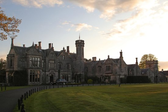 Roxburghe Hotel & Golf Course: A beautiful evening!