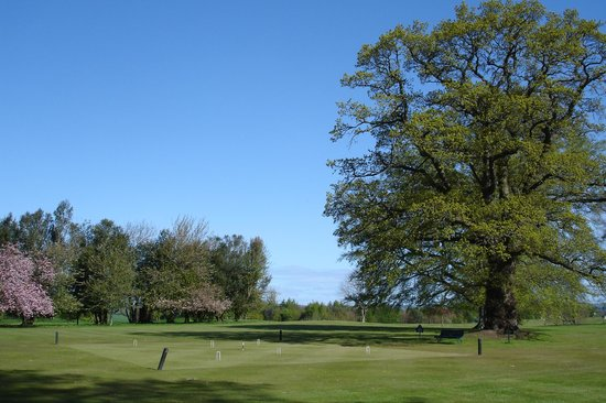 Roxburghe Hotel & Golf Course: The view from the front door...