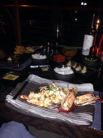 Le Meridien Mina Seyahi Beach Resort and Marina: Food from the Japanese