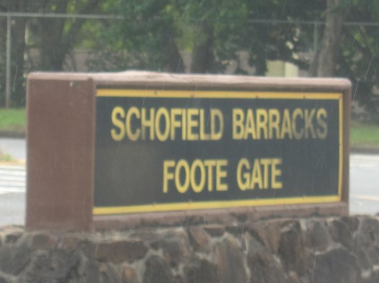 U.S. Army Schofield Barracks: Foote Gate