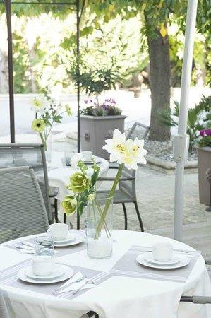 Hotel Roques : terrasse