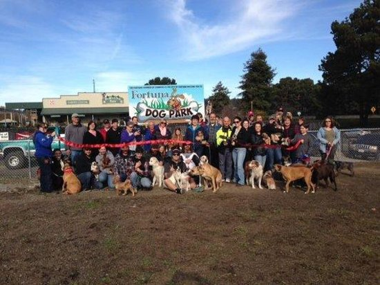 Fortuna, Kalifornien: Grand Opening of the dog park
