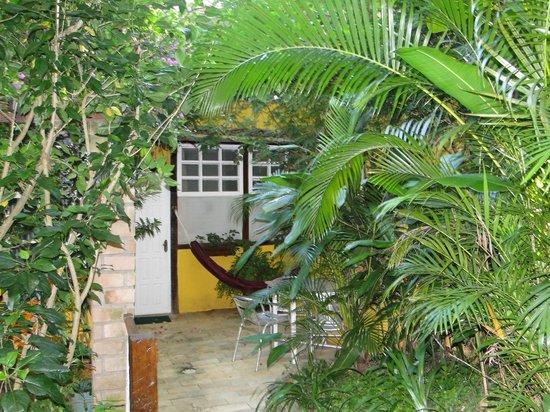 Telhado Verde by HTL: Área na frente de um dos quartos