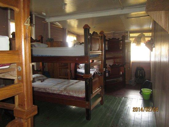Hostal Bastimentos: Great, affordable upstairs dorm
