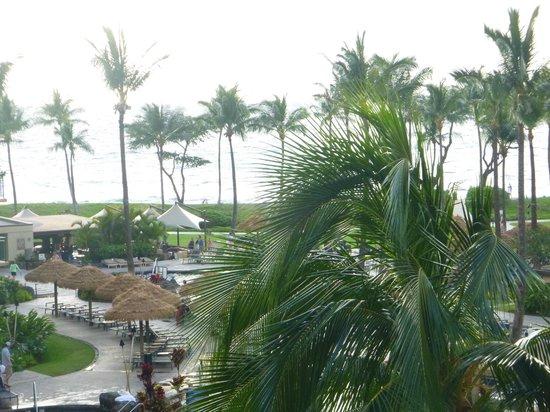 """The Westin Kaanapali Ocean Resort Villas: our """"partial"""" ocean view room"""