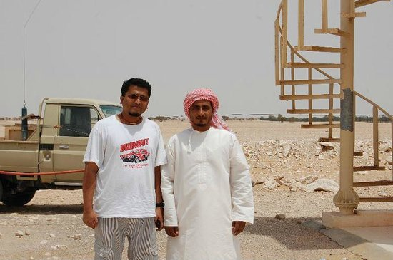 Arabian Oryx Sanctuary : The care taker