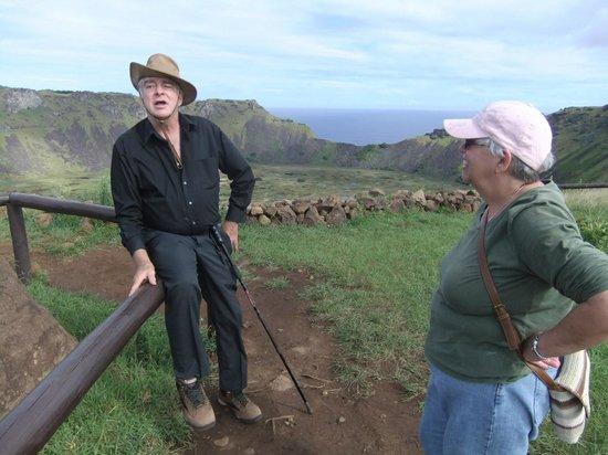 Tekarera Kainga Ora & Kainga Nui: Paul at Mirador Rano Kau