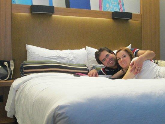 Aloft Miami Doral : cama