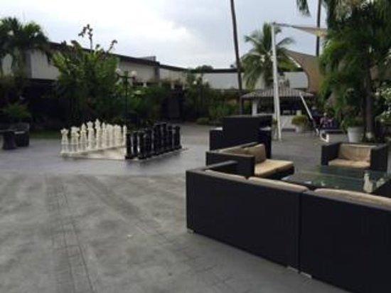 Riande Aeropuerto: Rec area