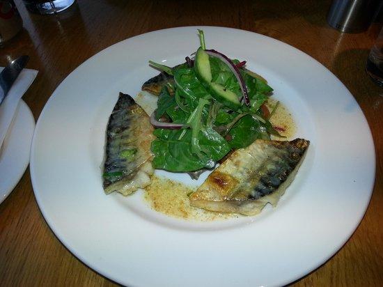The Waterfront Fishouse Restaurant: mackerel