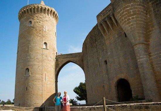 Castell de Bellver: The donjon