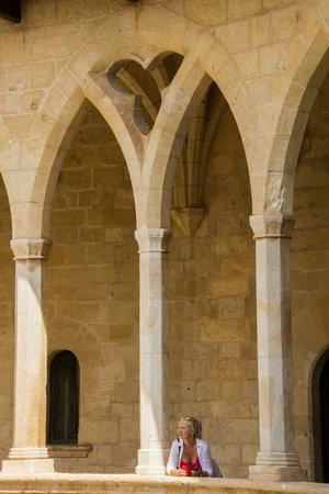 Castell de Bellver: Interior