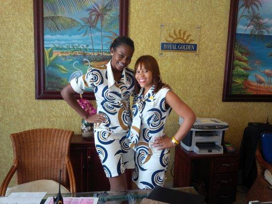 Grand Bahia Principe La Romana : Ladies at Golden reception
