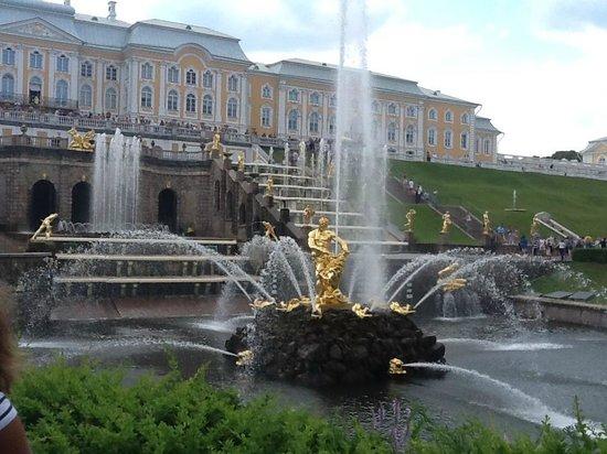 Schloss Peterhof: фонтан