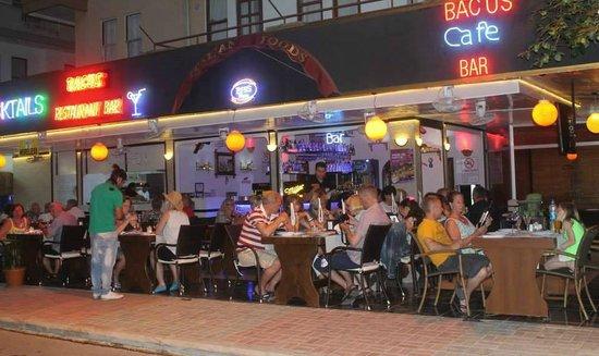 Bacus restaurant cafe&bar