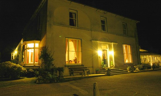 Ballyrafter Country House Hotel: Ballyrafter at Night
