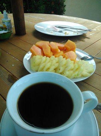 Villa Tepi Kali : Desayuno