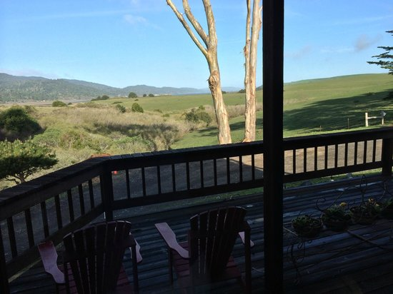 Black Heron Inn: View from the Veranda