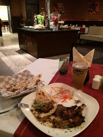 Mercure Gold Hotel: My dishes!