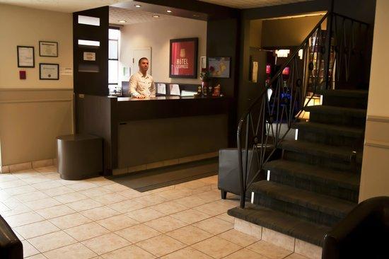 Hotel L'Express : Notre réception