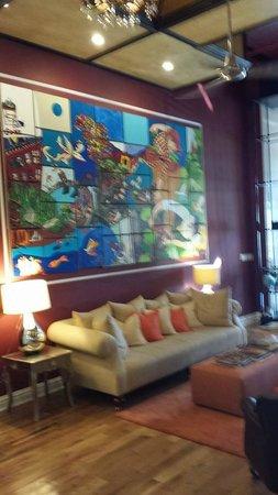 The Box House Hotel: Hotel Lobby