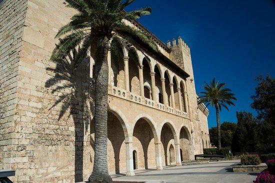 Palau de l'Almudaina: The terrace