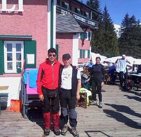 Rifugio Sassi Castelli : Io e Nicola