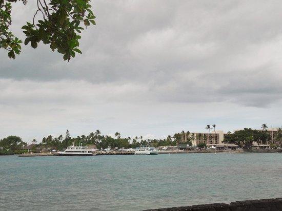 Kailua bay from Kona Canoe Club
