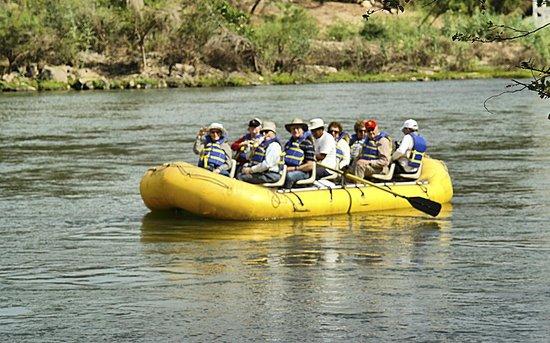 El Fuerte, Meksiko: Paseo en Balsa por el Rio Fuerte