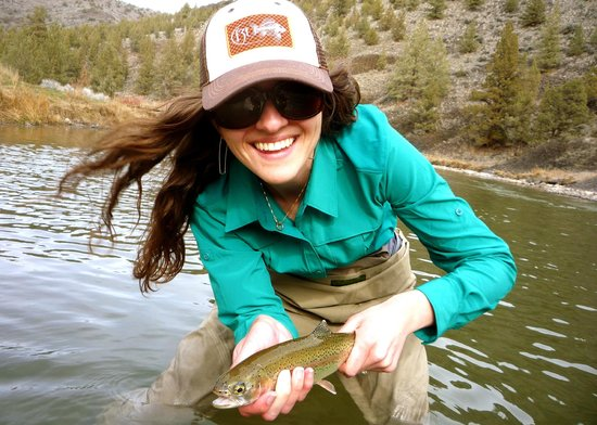The Upper Deschutes river has some really nice, big Brook trout