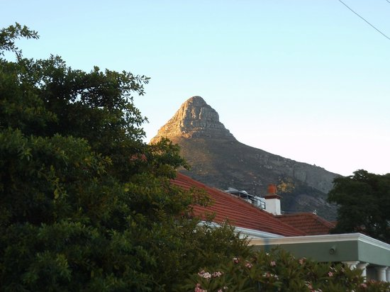 Leeuwenzee Guest House : View from Plunge Pool (Lions Head)