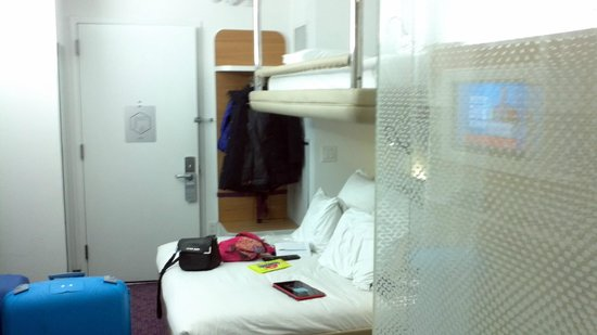 YOTEL New York at Times Square West: camera da 3