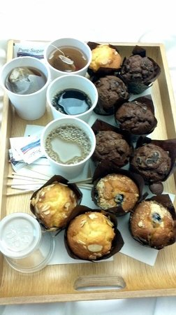 YOTEL New York at Times Square West: i famosi muffins