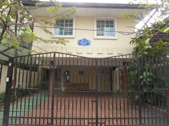 Hostel Villa Vento Surf : Entrada hostel