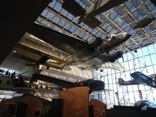 National Air and Space Museum: Up in the Air