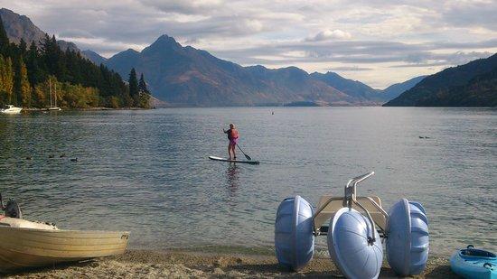 Watersports Queenstown: paddle boarding Queenstown