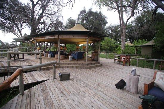 Wilderness Safaris Little Vumbura Camp: lounge - reception