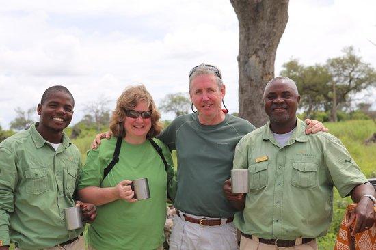 Wilderness Safaris Little Vumbura Camp: Yvonne, Stacey, Ben