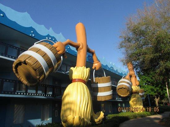 Disney's All-Star Movies Resort: 100 puntos
