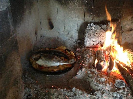 Konoba Bare: Fish under the baking bell